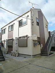 神奈川県横浜市港北区日吉本町5の賃貸アパートの外観