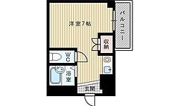 ハイムタケダT-5[3階]の間取り