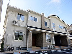 愛知県額田郡幸田町大字横落字向野の賃貸アパートの外観