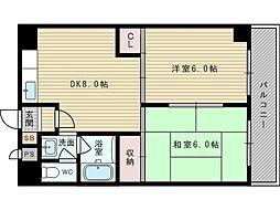 上新庄グランドハイツ北[1階]の間取り