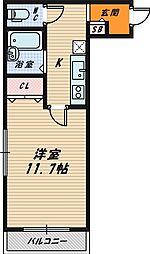 五大産業ビル[2階]の間取り