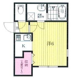 三茶花壇[3階]の間取り