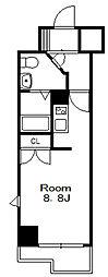 ドゥーエ国府台[11階]の間取り