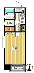 ダイナコートエスタディオ桜坂[601号室]の間取り
