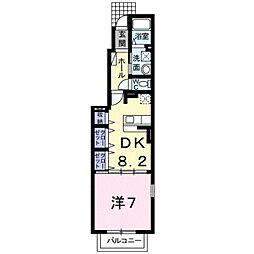 Uー151 T1[1階]の間取り