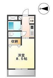 OHASHI FLAT 2[202号室]の間取り