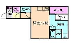 オリエンタルマンション[2階]の間取り