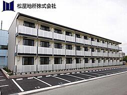 愛知県豊橋市大村町字山所の賃貸マンションの外観