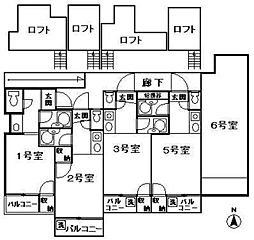 ソフィー21福大前I[202号室]の間取り