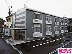 愛知県蒲郡市三谷町東前の賃貸アパートの外観