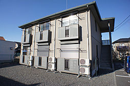 栃木県栃木市片柳町1丁目の賃貸アパートの外観
