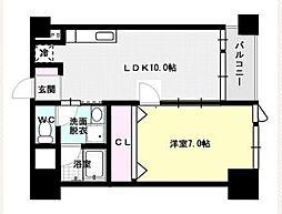 福岡県福岡市西区愛宕4丁目の賃貸マンションの間取り