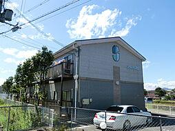 滋賀県守山市阿村町の賃貸アパートの外観