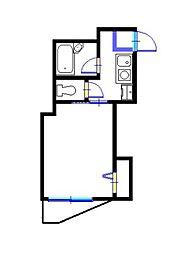 カーナYokohama[3階]の間取り