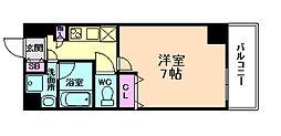 W−STYLE大阪天満宮[11階]の間取り