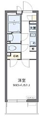 東京メトロ有楽町線 平和台駅 徒歩12分の賃貸マンション 1階1Kの間取り