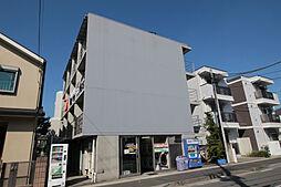 神奈川県川崎市多摩区菅野戸呂の賃貸マンションの外観