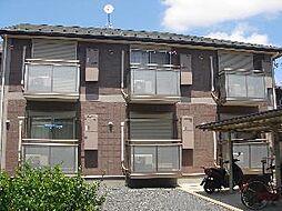 千葉県千葉市稲毛区穴川1丁目の賃貸アパートの外観