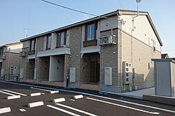 新潟県新発田市西園町3丁目の賃貸アパートの外観