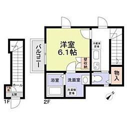 (仮称)横浜市戸塚区上倉田町計画[2階]の間取り