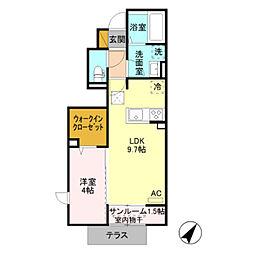 仮)D-room五智[1階]の間取り