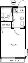 セルティアI[2階]の間取り