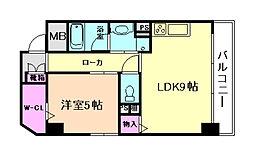 ロイヤル福島[2階]の間取り
