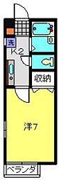 プラネットM[1階]の間取り