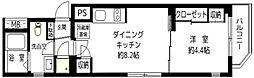 エフパークレジデンス横浜反町[4階]の間取り