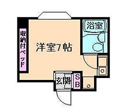玉川五月荘[2階]の間取り