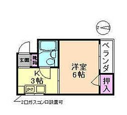ドリームマンション[4階]の間取り
