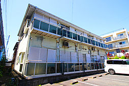 千葉県市川市新田1丁目の賃貸アパートの外観