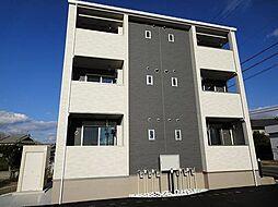 愛知県豊田市本町石根の賃貸アパートの外観