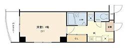 東京都新宿区神楽坂5丁目の賃貸マンションの間取り