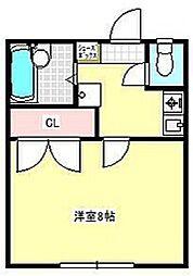 セザンヌ高師B[1階]の間取り
