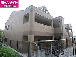 愛知県豊田市宮上町5丁目の賃貸アパートの外観