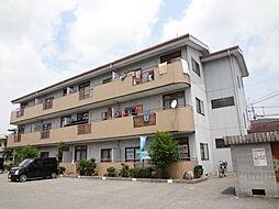 滋賀県愛知郡愛荘町豊満の賃貸マンションの外観
