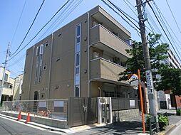 東京都葛飾区東新小岩7丁目の賃貸アパートの外観