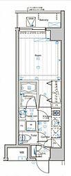 SYFORME NISHI-SHINJUKU-5CHOME 3階1Kの間取り