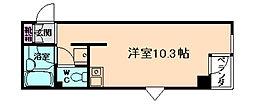 ラヴィータ箕面[2階]の間取り