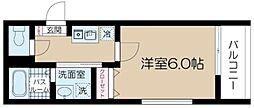 JR総武線 吉祥寺駅 徒歩7分の賃貸マンション 3階1Kの間取り