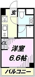 埼玉県入間市大字仏子の賃貸マンションの間取り