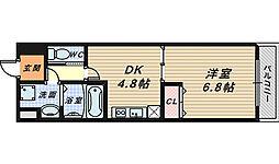 エスポワール長曽根[3階]の間取り