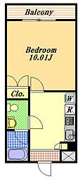 クレオ舞浜3[2階]の間取り