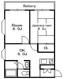 アーバンハイム1[1階]の間取り