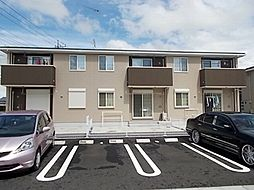 茨城県下妻市高道祖の賃貸アパートの外観