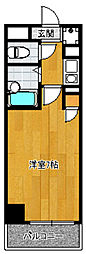アクタス博多[10階]の間取り