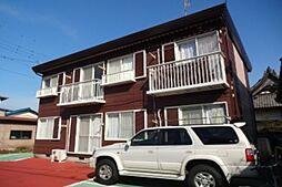滋賀県東近江市五個荘新堂町の賃貸アパートの外観