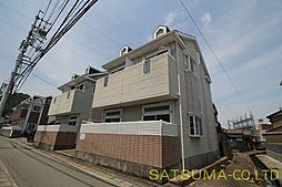 徳島県徳島市富田橋8丁目の賃貸アパートの外観