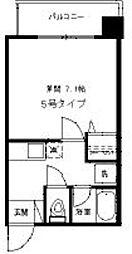 フローラ博多[305号室]の間取り